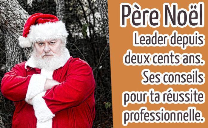 Père Noël en coach professionnel